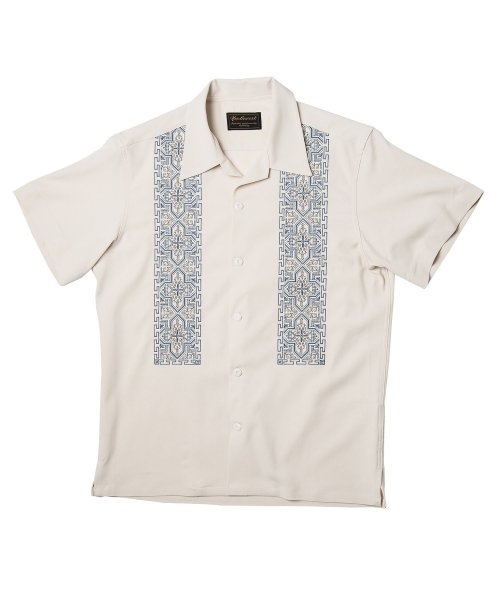 니들워크(NEEDLE WORK) NATIVE EMBROIDERY SHIRTS