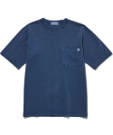 라이풀() P-DYED POCKET TEE navy