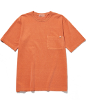 라이풀() P-DYED POCKET TEE orange