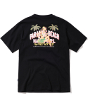 2017 HAWAII GIRL T-SHIRT (BLACK) [PT031F23BK]