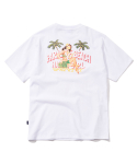 2017 HAWAII GIRL T-SHIRT (WHITE) [PT031F23WH]