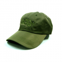 키치콕(KITCHCOCK) MA-1 SNAKE BALL CAP KHAKI