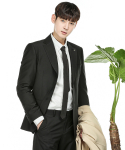 모던아론() MODERN ARON : Gentlemanly Single Suit Blazer Black