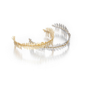 티오유(TOU) leaf crown tiara band