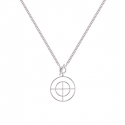 TOU double round necklace