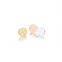 티오유(TOU) TOU button earring