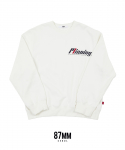 팔칠엠엠서울() [87MM_SEOUL] MINNING SWEAT SHIRTS (WHITE)