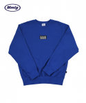 팔칠엠엠서울() [Mmlg] 87 LOGO SWEAT (BLUE)