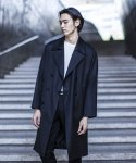 가먼트레이블() Grace Rich Wool Trench Coat - Black