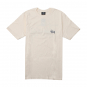 스투시() [스투시] BASIC STUSSY TEE (NATURAL) [1904003-NATL]
