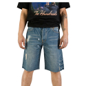 더헌드레드(THE HUNDREDS) THE HUNDREDS CUTTY SLIM FIT SHORT DENIM