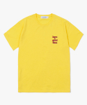 해브 어 굿 타임(HAVE A GOOD TIME) 3D Logo S/S Tee - Yellow