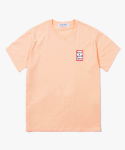Mini Frame S/S Tee - Peach