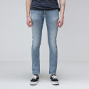 누디진() [NUDIE JEANS] Long John Clean Stone Indigo 112337