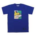 STV. ROLLER GIRL TEE BLUE