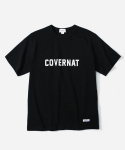 커버낫(COVERNAT) S/S FULLLOGO T-SHIRTS BLACK