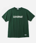 커버낫(COVERNAT) S/S FULLLOGO T-SHIRTS GREEN