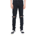 DESTROYED JEANS BLACK