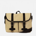 모노노(MONONO) Super Oxford Vintage Mail Bag - Ivory Brown