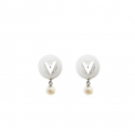 베리송크(VARISONC) V Drop earrings