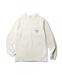 Noise Cafe Playlist LS Tee Off White