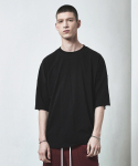 OVERSIZED BASIC T-SHIRT-BLACK