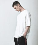 OVERSIZED BASIC T-SHIRT-WHITE