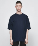 디프리크(D.PRIQUE) OVERSIZED BASIC T-SHIRT-NAVY
