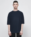 디프리크(D.PRIQUE) OVERSIZED T-SHIRT-NAVY