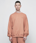 디프리크(D.PRIQUE) OVERSIZED SWEATSHIRT-RUST