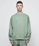 디프리크(D.PRIQUE) OVERSIZED SWEATSHIRT-MINT GREEN