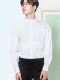 HENLEY-NECK OUTER SHIRTS WHITE