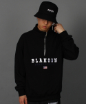블라쿤(BLAKOON) Blakoon half zip up sweatshirts
