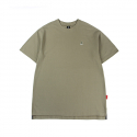 캉골(KANGOL) Square Neck Oversized Short Sleeves T 2553 Khaki