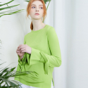 룩캐스트(lookast) GREEN RIBBON KNIT