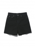 디스이즈네버댓() Washed Denim Short Black