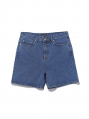 디스이즈네버댓() Washed Denim Short Blue