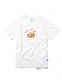 디스이즈네버댓() Cheese Burger Tee White