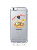 디스이즈네버댓() Cheese Burger iPhone Case 6/6s