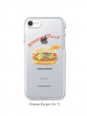 디스이즈네버댓() Cheese Burger iPhone Case 7