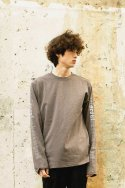 아타르(ATAR) [UNISEX / 7COLOR]PSLN LONG-SLEEVE T-SHIRT GRAY