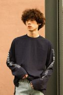 [UNISEX / 7COLOR]PSLN LONG-SLEEVE T-SHIRT NAVY