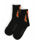 예스아이씨(YESEYESEE) Decal Socks Black