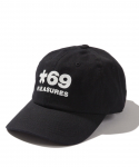 플레져스(PLEASURES) PLEASURES / STAR 69 CAP / BLACK