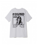 PLEASURES / FOUND TEE / WHITE