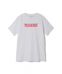 플레져스(PLEASURES) PLEASURES / MARK OF THE BEAST TEE / WHITE