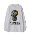 플레져스(PLEASURES) PLEASURES / FLOWER CHILD LONG SLEEVE SHIRT / WHITE