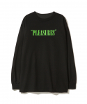 플레져스(PLEASURES) PLEASURES / MARK OF THE BEAST LONG SLEEVE SHIRT / BLACK