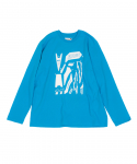 예스아이씨(YESEYESEE) Solid Decal L/S Sky Blue