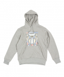 예스아이씨() Empty Decal Hoodie Gray